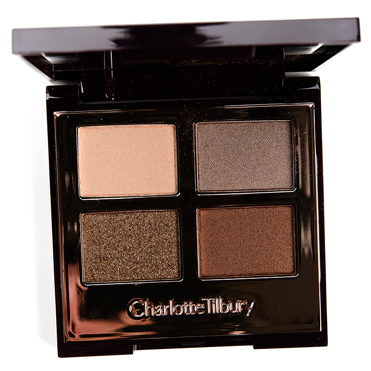 Charlotte Tilbury The Golden Goddess Eyeshadow Quad Review & Swatches
