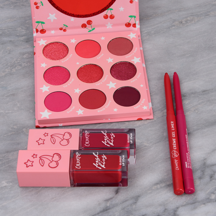 ColourPop Cherry Crush Collection Swatches