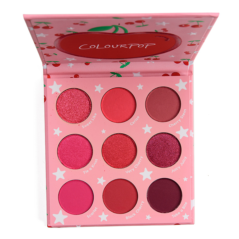 ColourPop Cherry Crush 9-Pan Pressed Powder Palette