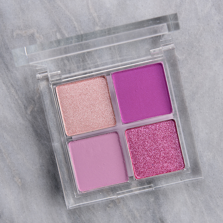 ColourPop Gimme Sugar Eyeshadow Quad Review & Swatches