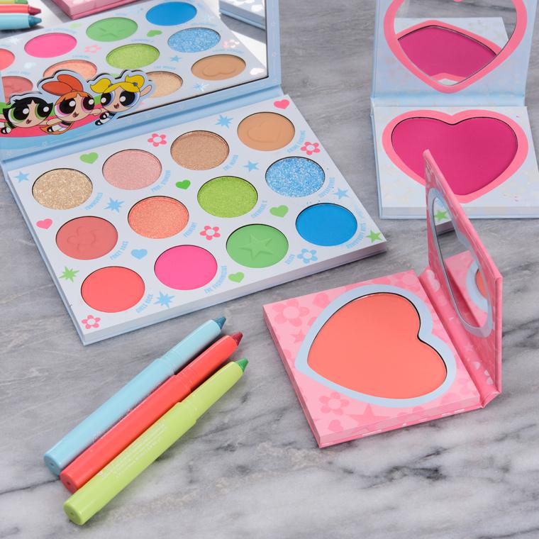 ColourPop x Powerpuff Girls Collection Swatches