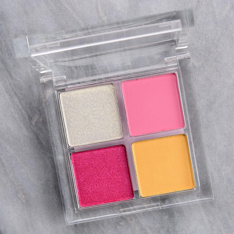 ColourPop Sundae Funday Eyeshadow Quad Review & Swatches