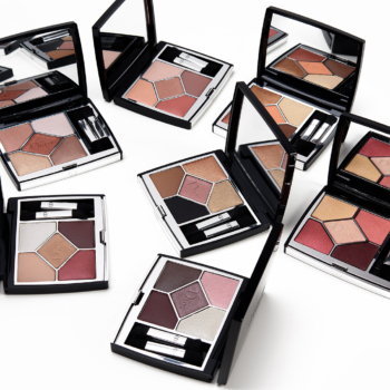 Dior 5 Couleurs Couture Eyeshadow Palette Swatches (x7)
