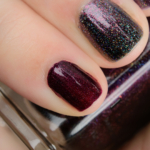 ILNP Black Orchid Holographic Nail Polish