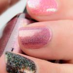 ILNP Champagne Blush Holographic Shimmer Nail Polish