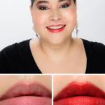MAC Flustered Lustreglass Sheer-Shine Lipstick