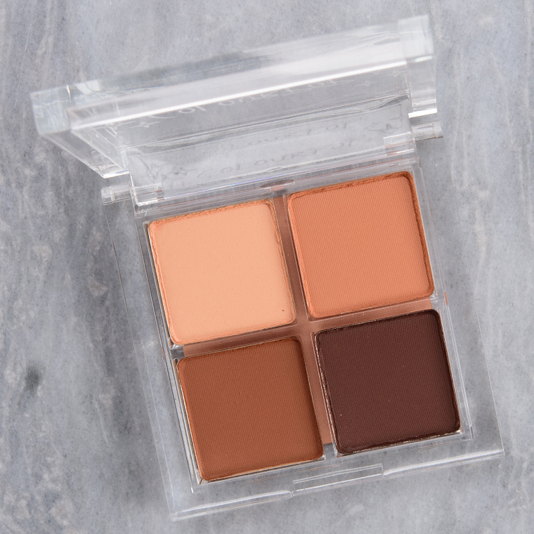 ColourPop Bare It All Eyeshadow Quad Review & Swatches