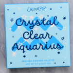 ColourPop Crystal Clear Aquarius Pressed Powder Shadow Quad