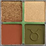 ColourPop Never Taurus Apart Pressed Powder Shadow Quad