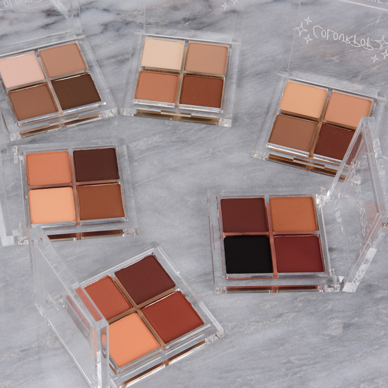 ColourPop Nude Collection Swatches