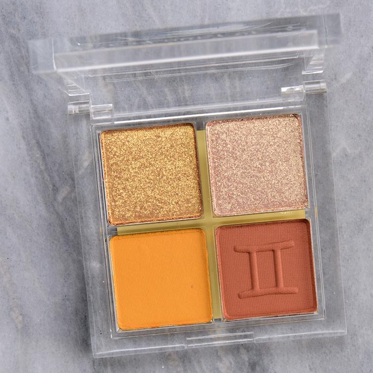 ColourPop Semi Precious Gemini Eyeshadow Quad Review & Swatches