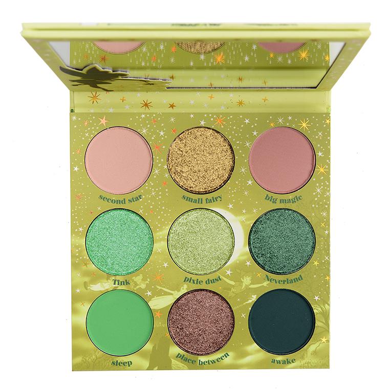 Online Shop Trend Now colourpop_sprinkle-a-little-magic_001_palette-1 ColourPop x Disney Tinkerbell Collection Swatches