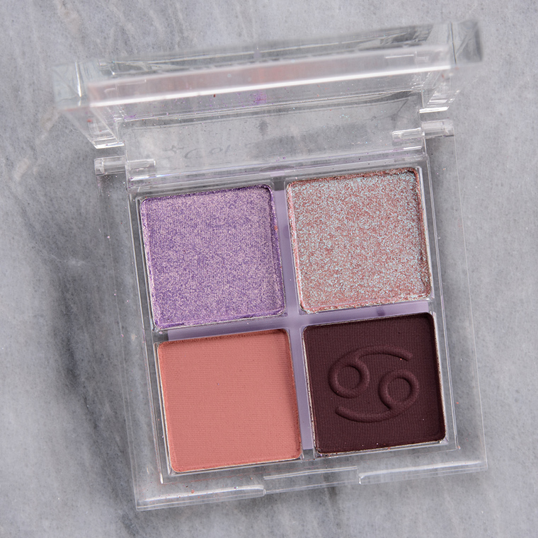 ColourPop Tender Loving Cancer Eyeshadow Quad Review & Swatches