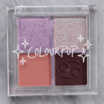 ColourPop Tender Loving Cancer Pressed Powder Shadow Quad