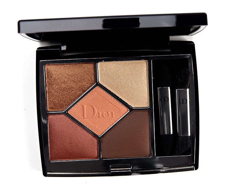 Dior Copper Eyeshadow Palette Review & Swatches