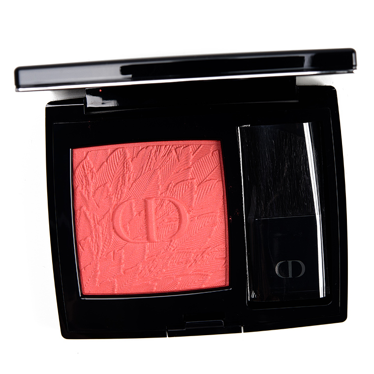 Dior Coral Flight Rouge Blush Review & Swatches