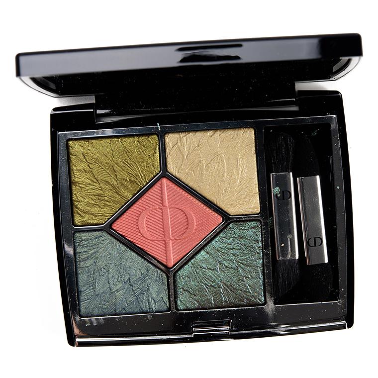 Dior Night Bird Eyeshadow Palette Review & Swatches