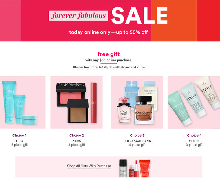 Ulta Forever Fabulous Sale - Up to 50% Off | August 4th, 2021 Only
