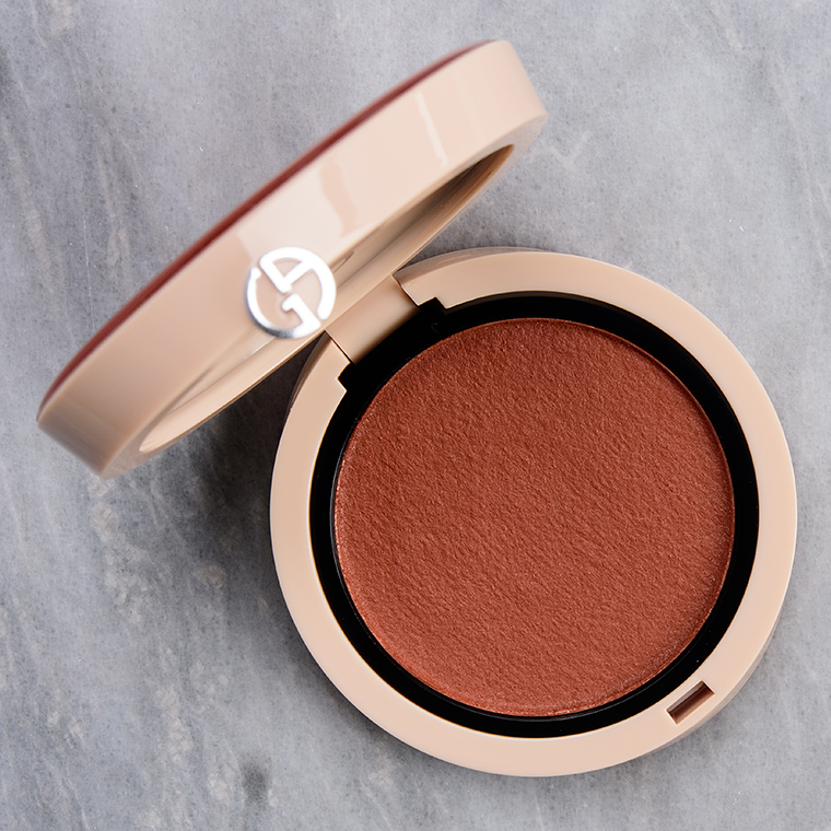 Giorgio Armani Warm Coral (30) Neo Nude Melting Color Balm Review & Swatches