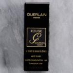 Guerlain Rouge G Luxurious Velvet Lipstick