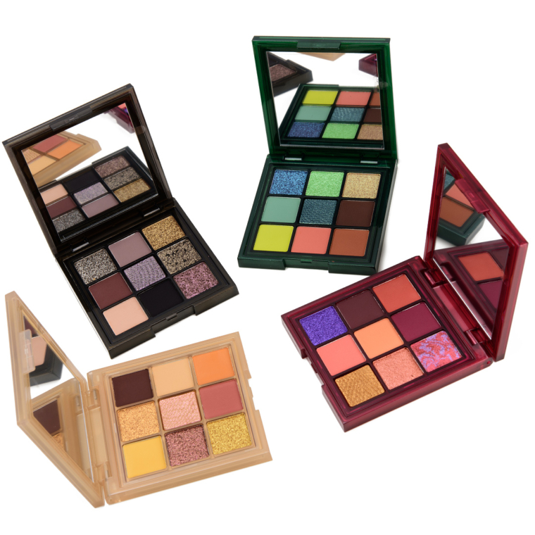 Huda Beauty Wild Obsessions Eyeshadow Palette Swatches