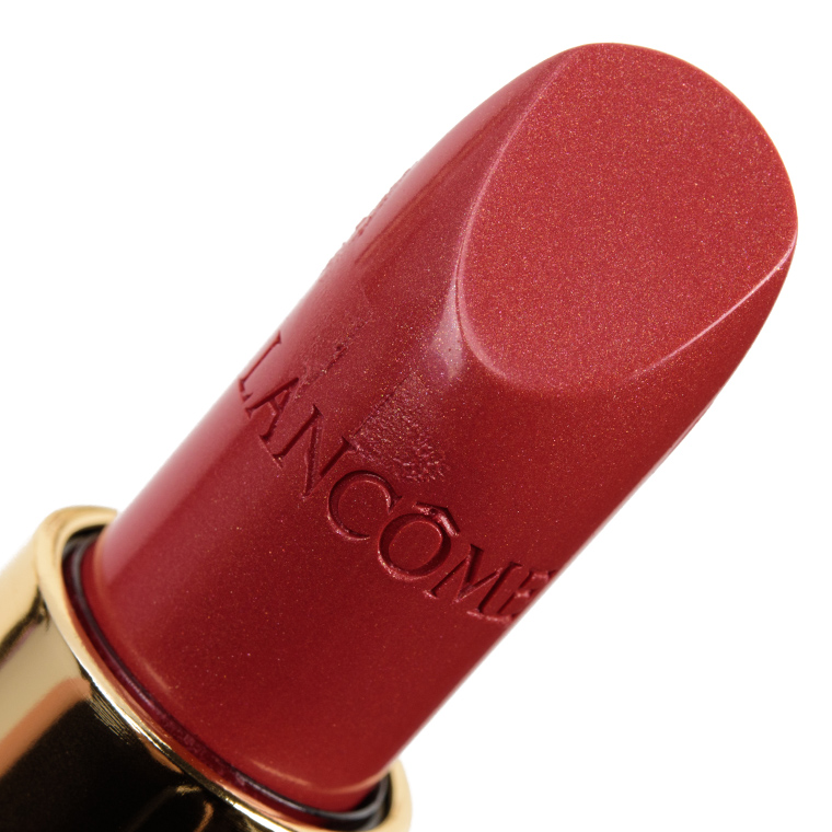 Lancome Rose Petale & Caprice L'Absolu Rouge Lipsticks Reviews & Swatches