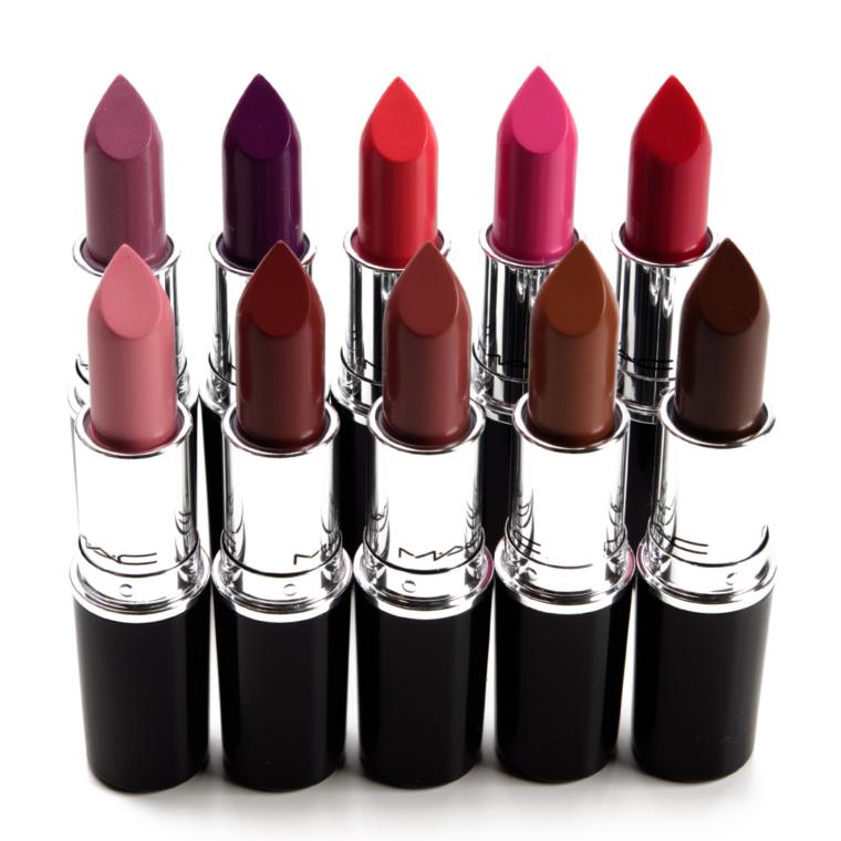 Fall 2021 Lip Swatches: More MAC Lustreglass Lipsticks + Smashbox x The Suicide Squad