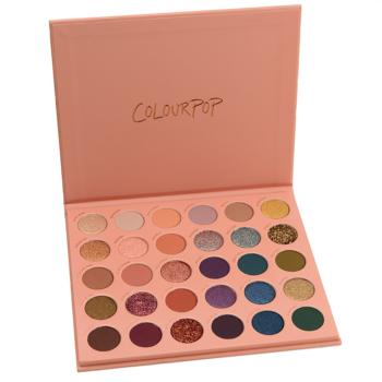 ColourPop It\'s a Mood Mega Palette Swatches