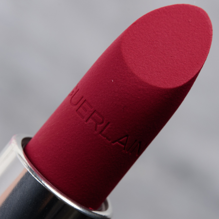 Guerlain Berry Pink & Wine Red Rouge G Velvet Lipsticks Reviews & Swatches