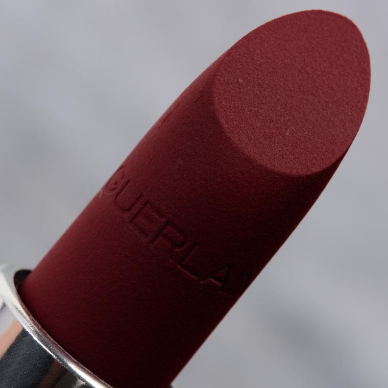 Guerlain Black Red & Dusty Brown Rouge G Velvet Lipsticks Reviews & Swatches