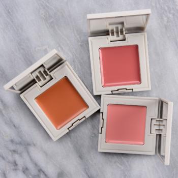 REFY Cream Bronzer + Cream Blush Swatches