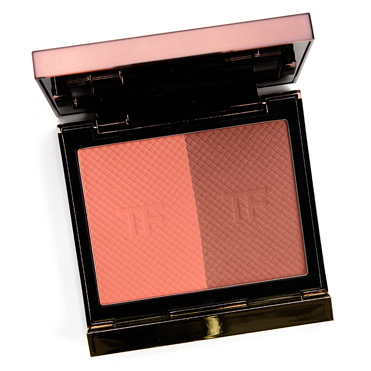 Tom Ford Peach Poison Shade & Illuminate Blush Duo Review & Swatches