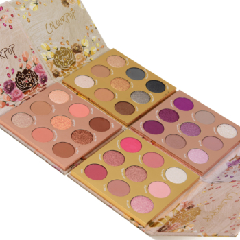 ColourPop Holiday 2021 Palette Swatches