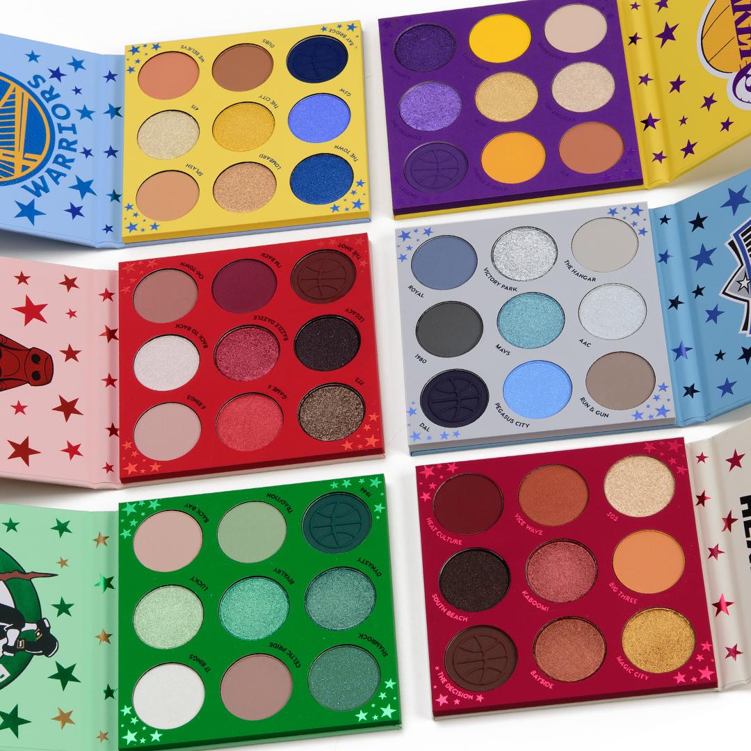 Online Shop Trend Now colourpop_nba_001_group ColourPop x NBA Collection Swatches