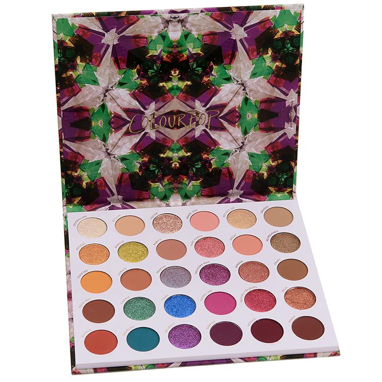 ColourPop Play It Jewel Eyeshadow Palette Swatches