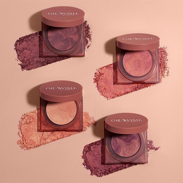 Huda Beauty GloWish Cheeky Blush + Luminous Powders Launch October 5th