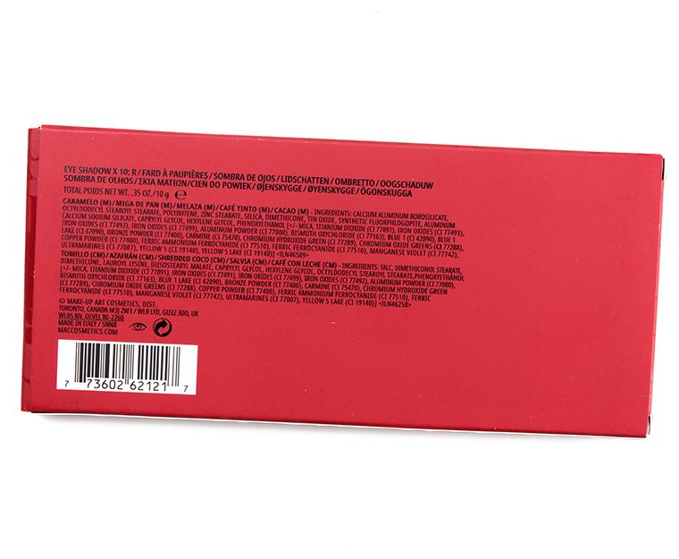 Online Shop Trend Now mac_r_007_ingredients MAC x Rosalia R Eyeshadow Palette Review & Swatches