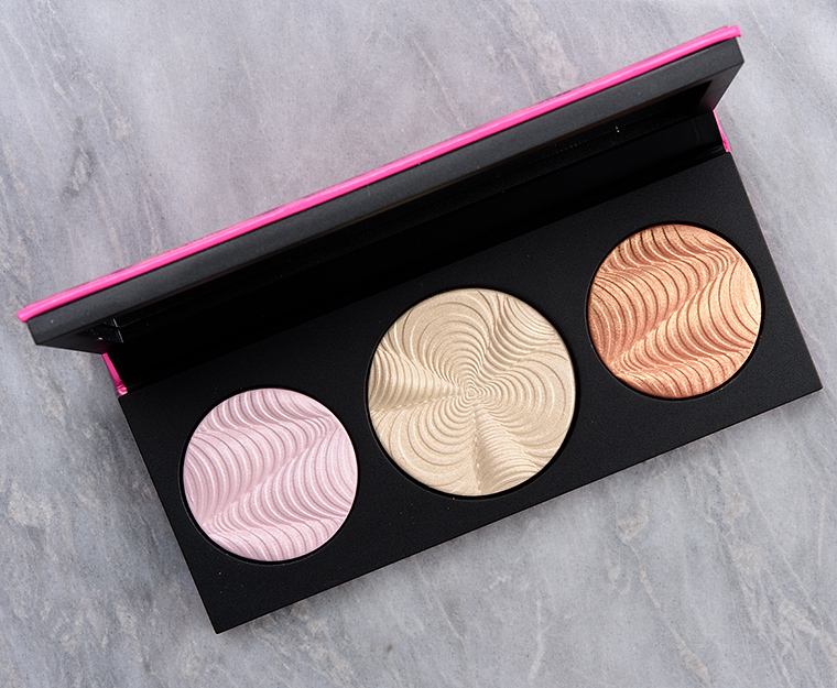 MAC Step Bright Up (Light) Extra Dimension Skinfinish Trio Review & Swatches