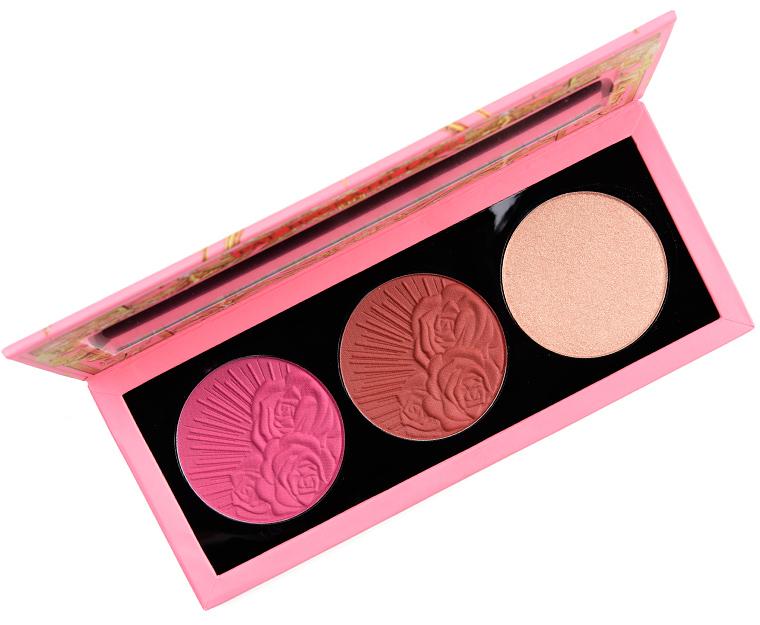 Pat McGrath Amber Allure Divine Blush + Glow Palette Review & Swatches