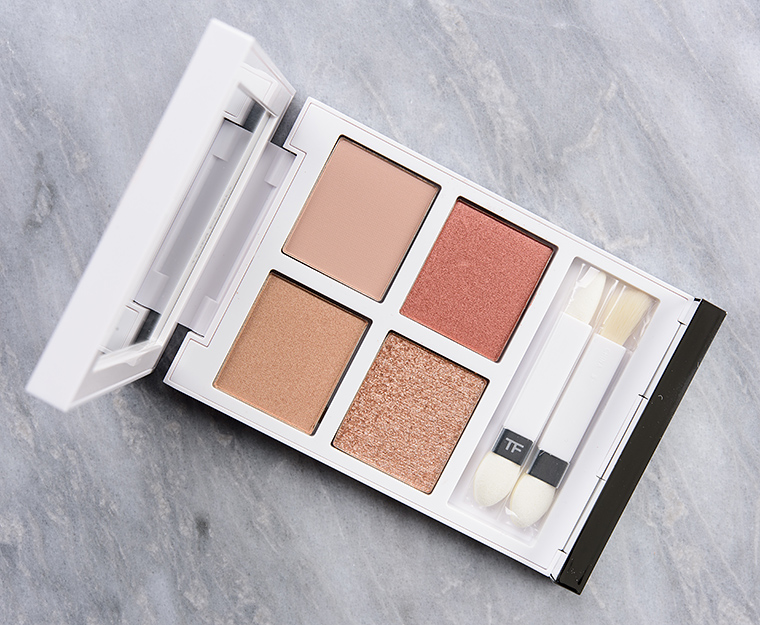 Tom Ford Naked Pink Eye Color Quad Review & Swatches