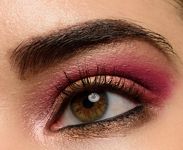 A Gold Berry Eye With Huda Beauty Rose Gold Remastered Temptalia