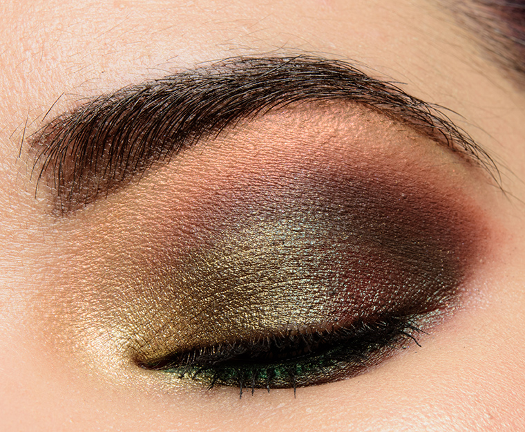 A Smoky Green Look Featuring Makeup Geek Stroke Of Midnight Temptalia