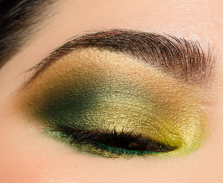 A Warm Olive Green Look Featuring Colourpop Just My Luck